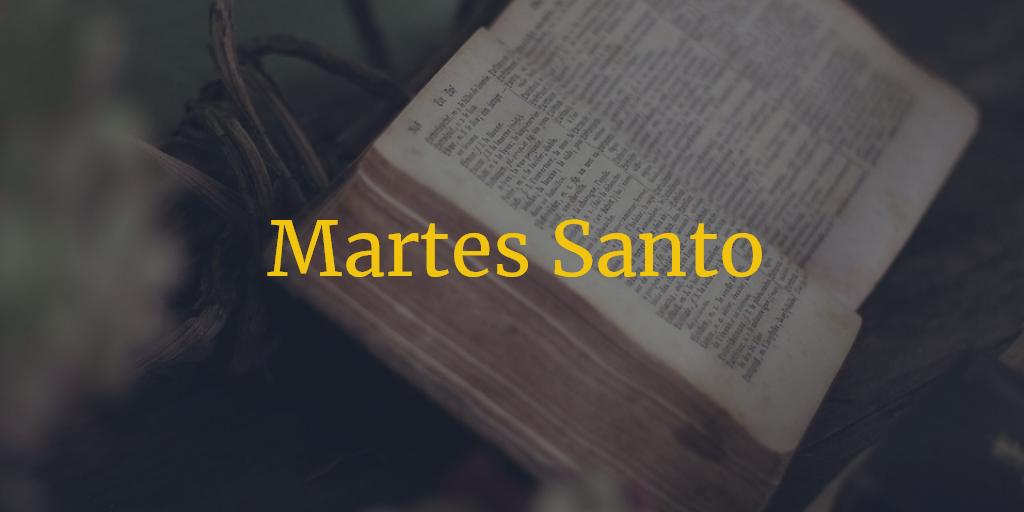 Horarios e Itinerarios Martes Santo Semana Santa Málaga