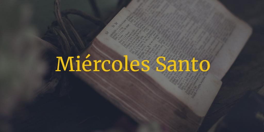 Horarios e Itinerarios Miércoles Santo Semana Santa Málaga