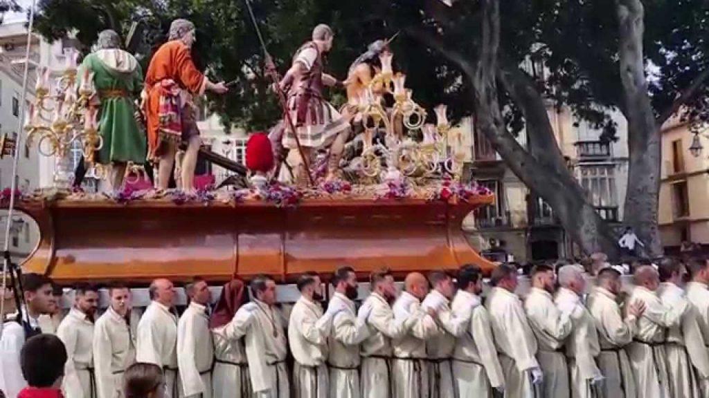 Trono Humildad y Paciencia Málaga