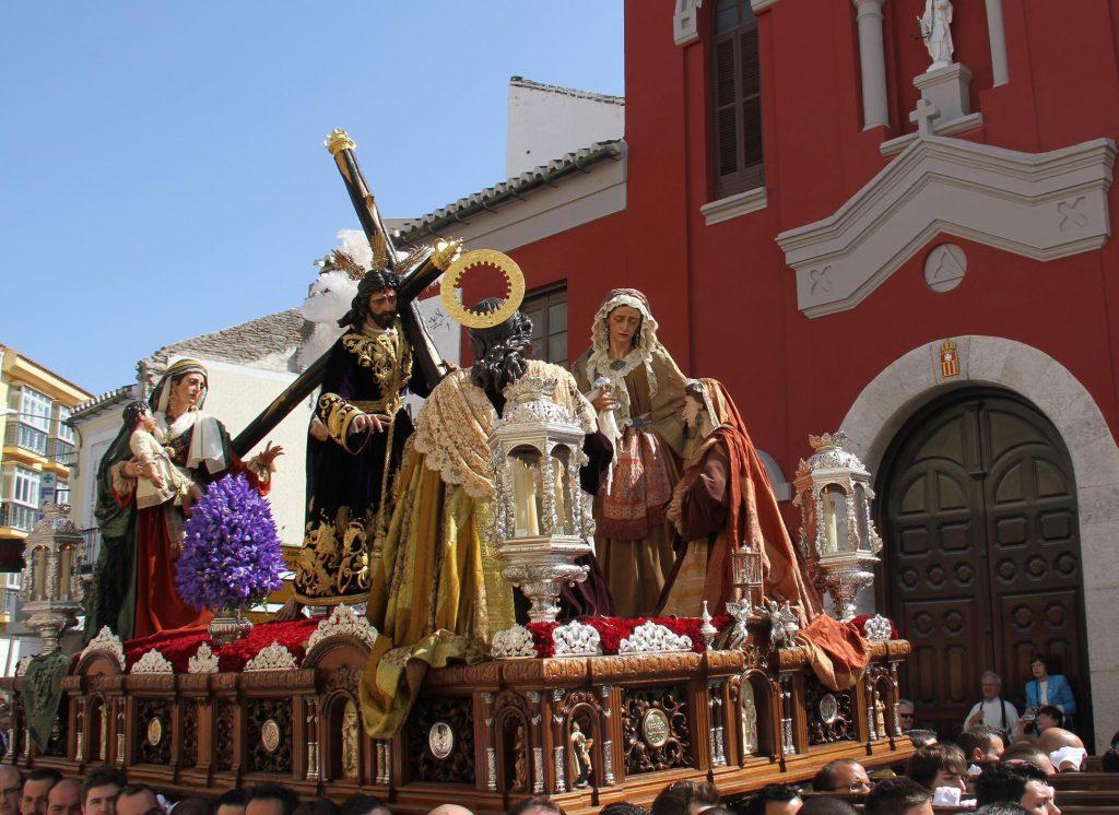 Trono Salutación Málaga