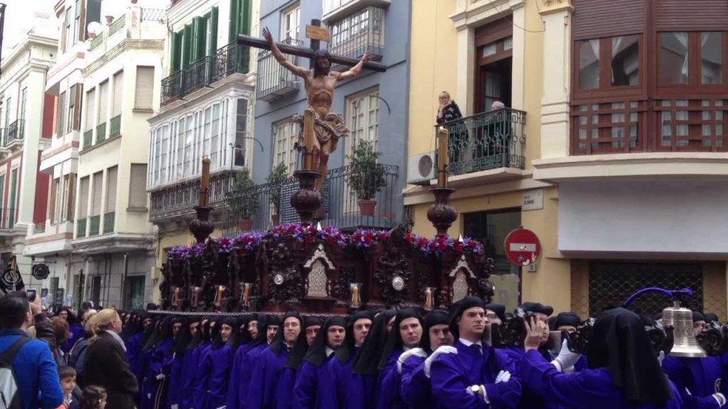 trono Crucifixión malaga