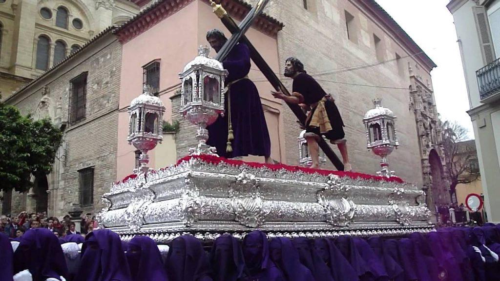 trono Pasión malaga
