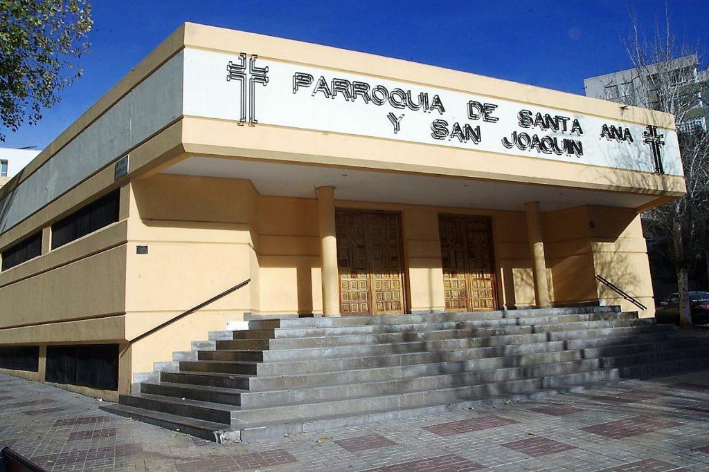 Iglesia de Santa Ana y San Joaquín Málaga