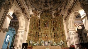 Iglesia de Santiago Málaga