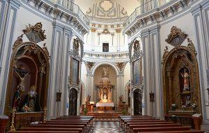 Iglesia de la Santa Cruz y San Felipe Neri Málaga