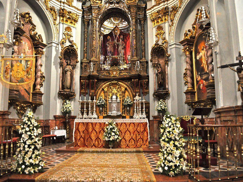 Iglesia de los Santos Mártires Ciriaco y Paula Málaga