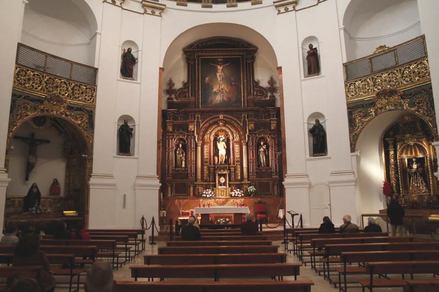 Iglesia del Santo Cristo de la Salud Málaga