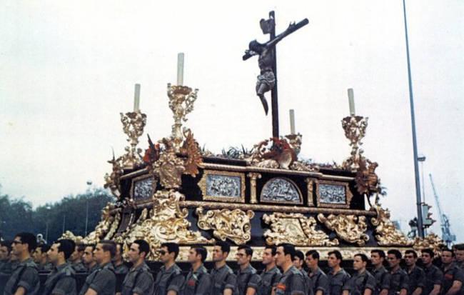 trono Cristo Mutilado malaga