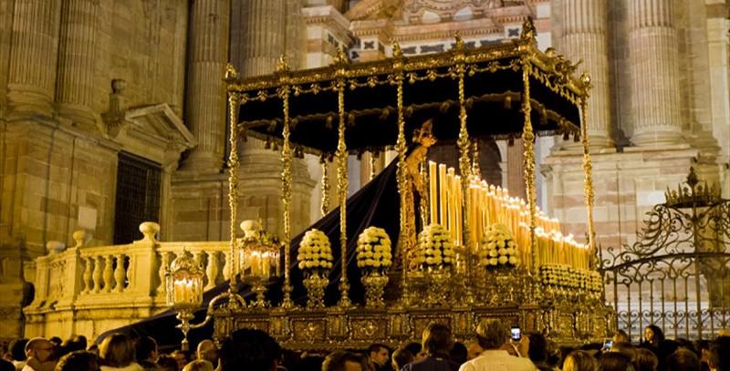 trono Dolores de San Juan malaga