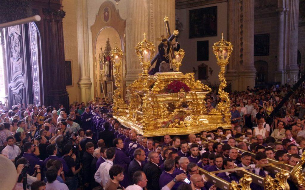 trono Misericordia malaga