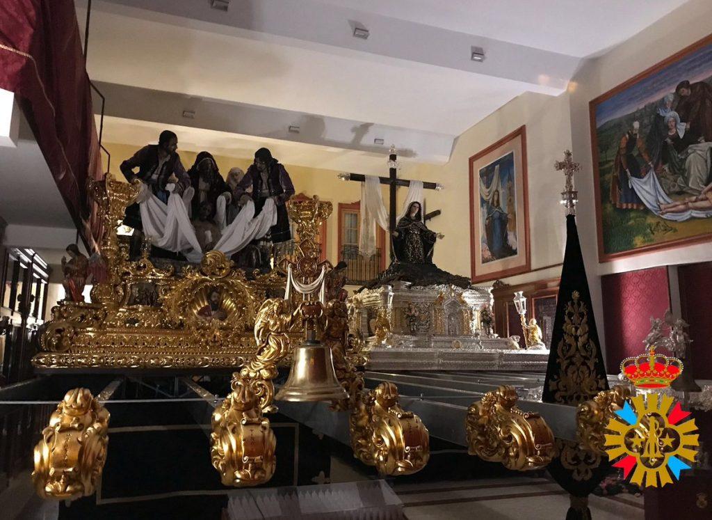 trono Traslado malaga