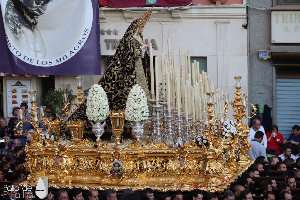 trono Viñeros malaga