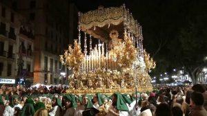 Trono Semana Santa Málaga